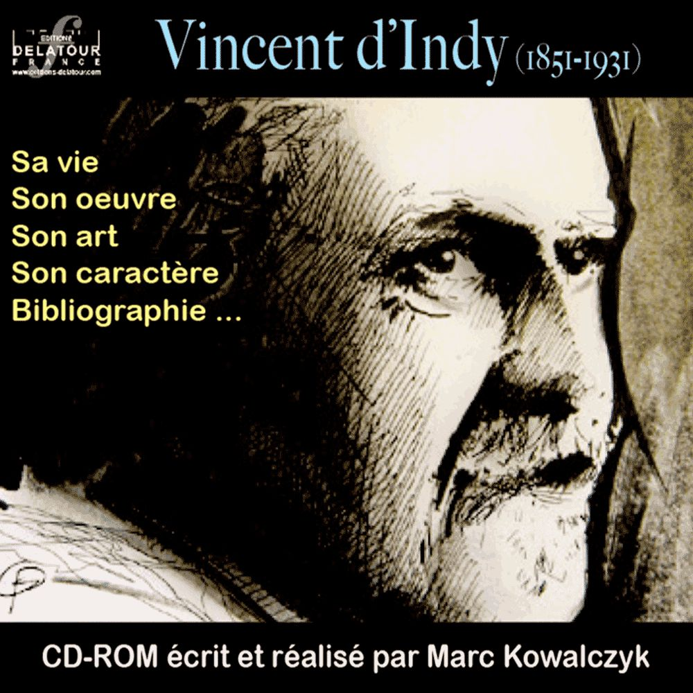 Vincent d'Indy CD-ROM