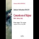 Concerto en ré majeur pour orgue