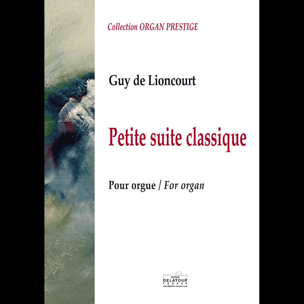 Petite suite classique for organ