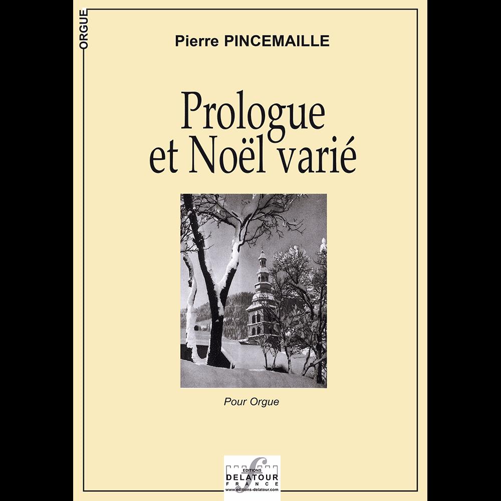 Prologue et Noël varié für Orgel