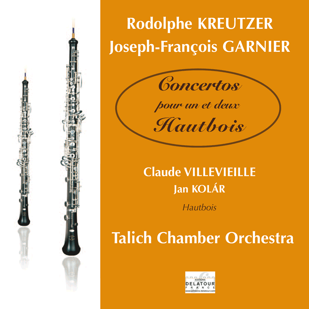 Concertos for one and two oboes - R. Kreutzer, J.F. Garnier