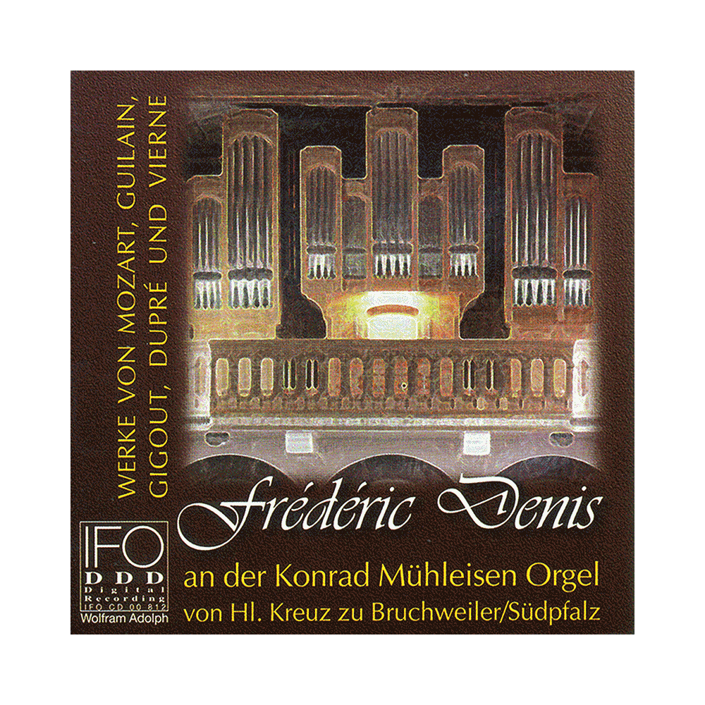 Frédéric Denis an der Konrad Mülheisen Orgel zu Bruchweiler