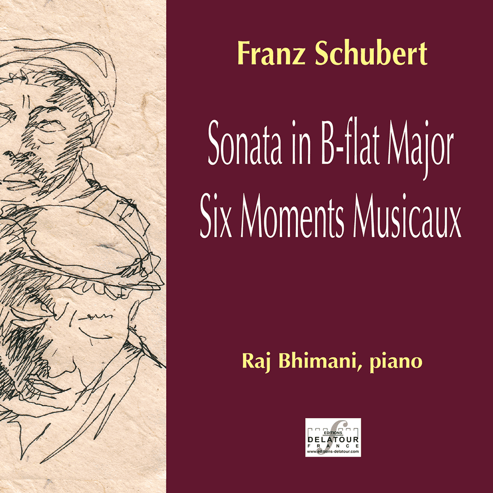 Raj Bhimani plays Franz Schubert