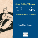 12 fantaisies - Georg-Philipp Telemann