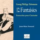 12 fantasies - Georg-Philipp Telemann