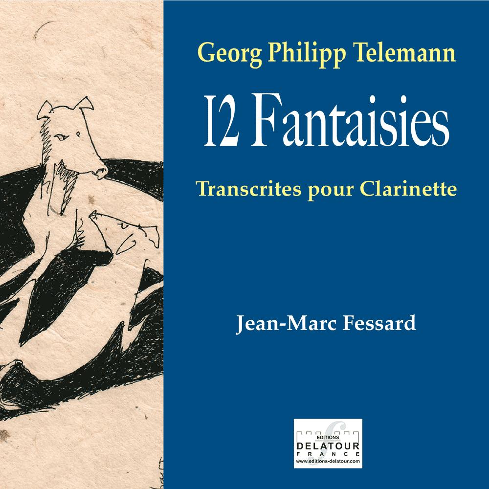 12 Fantasien - Georg-Philipp Telemann
