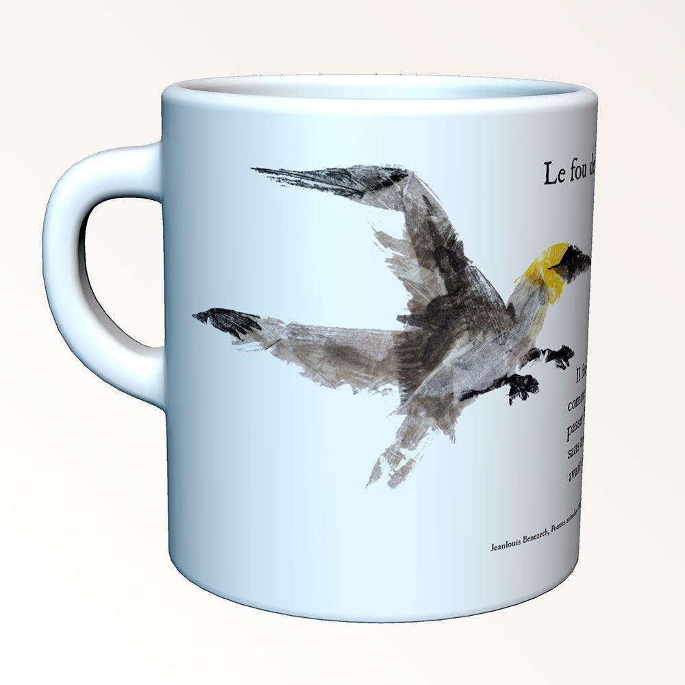 Tasses-poèmes - The gannet
