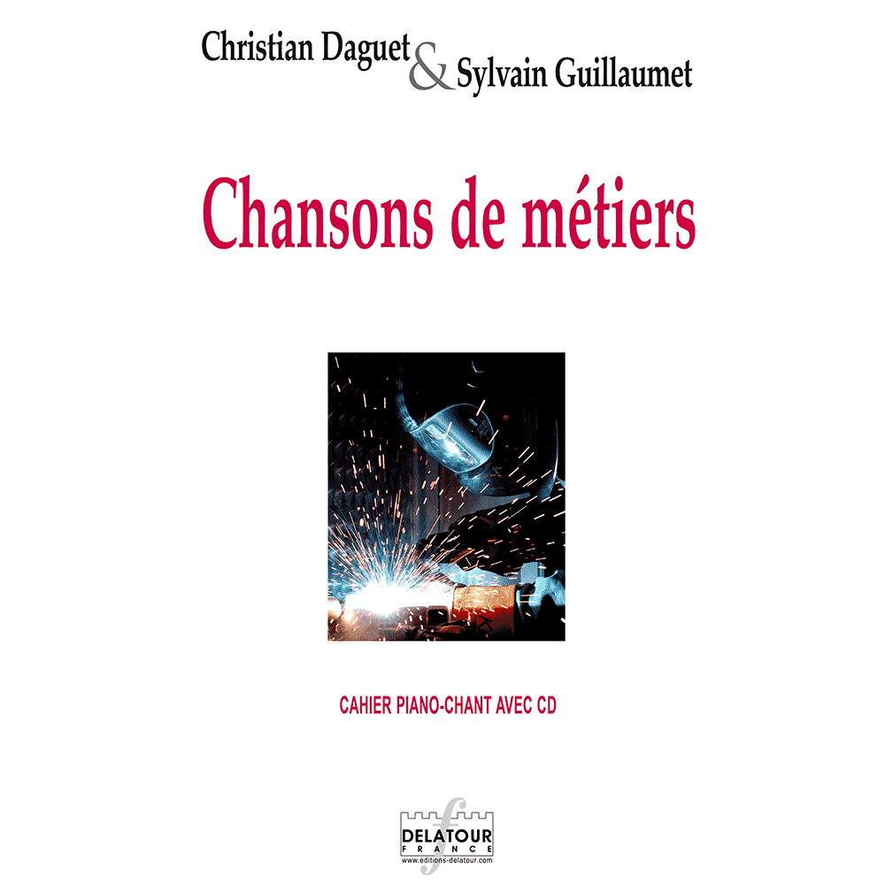 Chansons de métiers (Stimme-Klavier + CD)