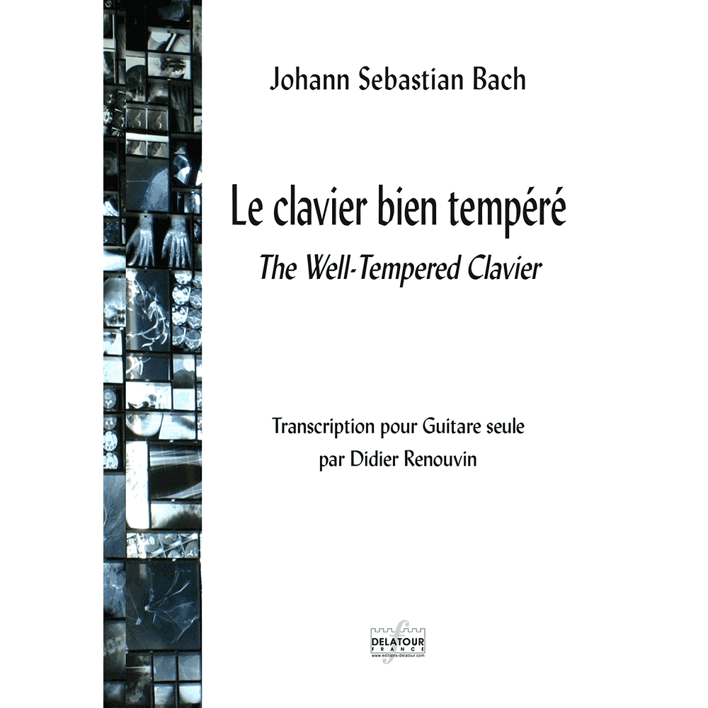 The Well-Tempered Clavier for guitar solo