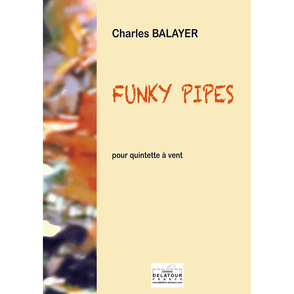 Funky pipes for wind quintet