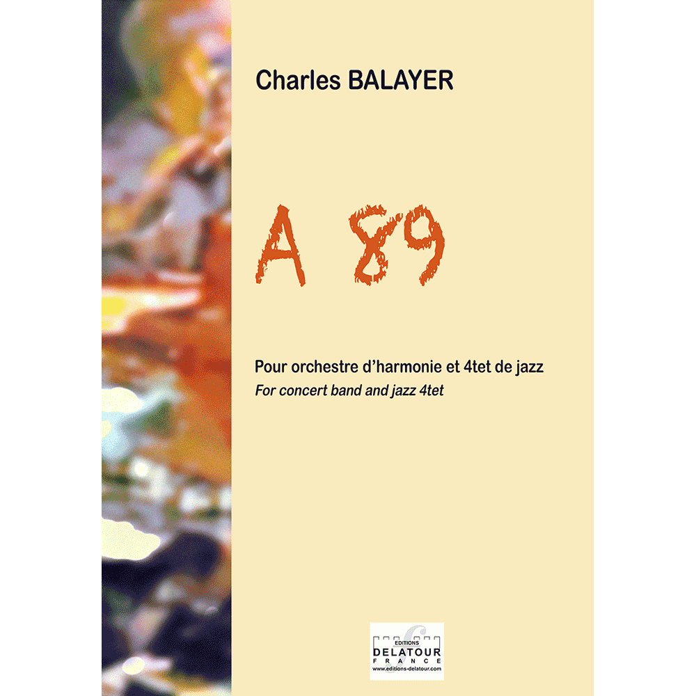 A89 for concert band and jazz quartet (PARTS)