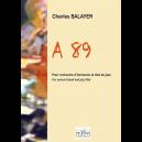 A89 für Blasorchester und Jazz 4tet (FULL SCORE)