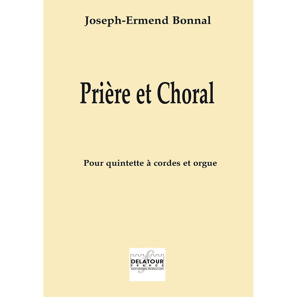 Prière et choral for organ and strings