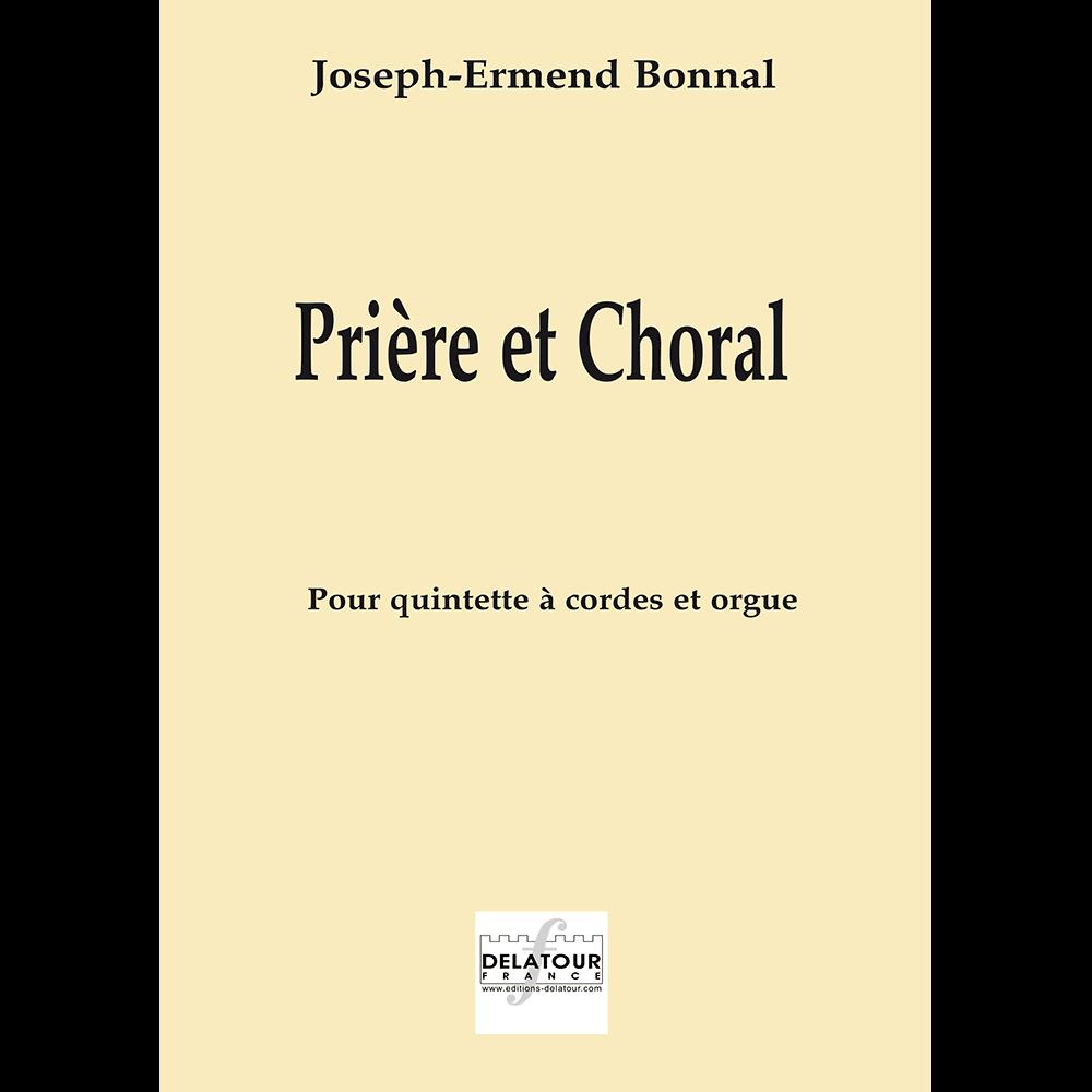 Prière et choral für Orgel und Streichinstrumente