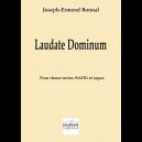 Laudate dominum für gemischten Chor und Orgel