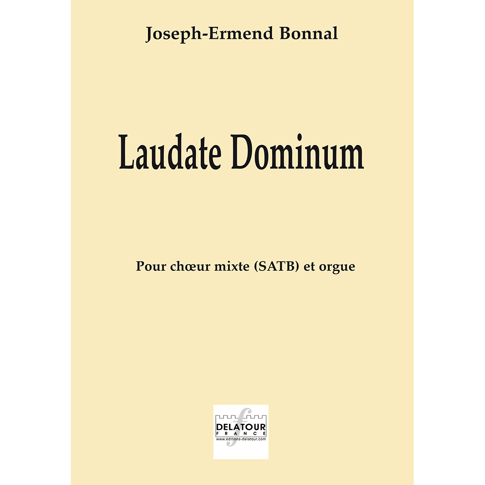 Laudate dominum for mixed choir and organ