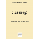 3 Tantum ergo for mixed choir and organ