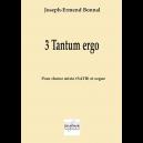 3 Tantum ergo pour choeur mixte et orgue