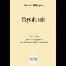 Pays du soir für Stimme und Klavier