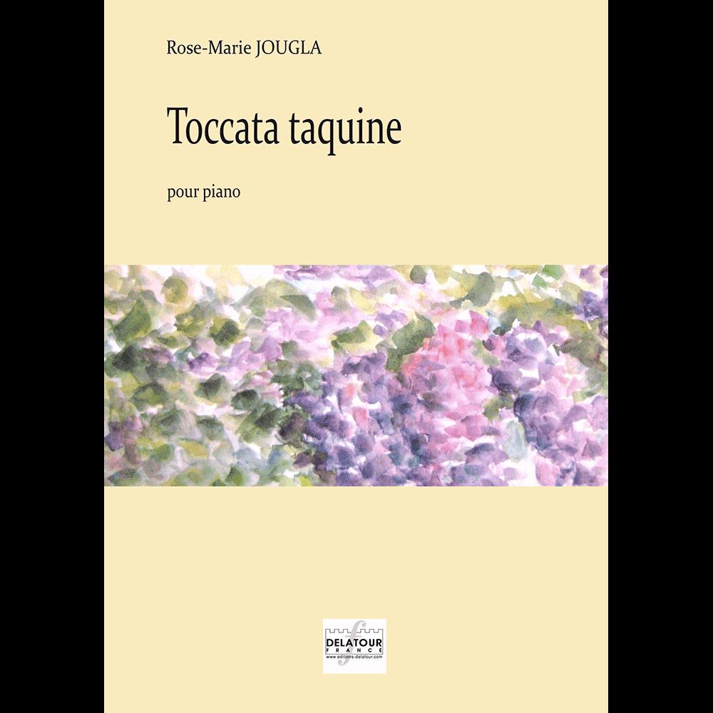 Toccata taquine für Klavier
