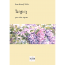 Tango 13 für Violine und Klavier
