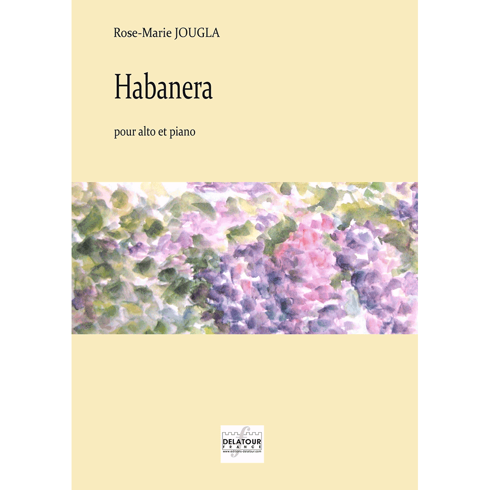 Habanera for viola and piano