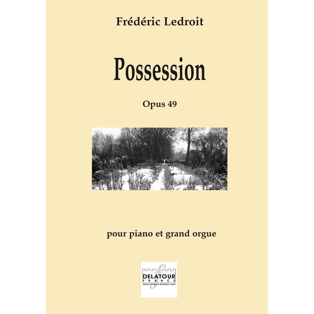 Possession for piano and great organ