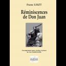 Réminiscences de Don Juan pour violon et piano