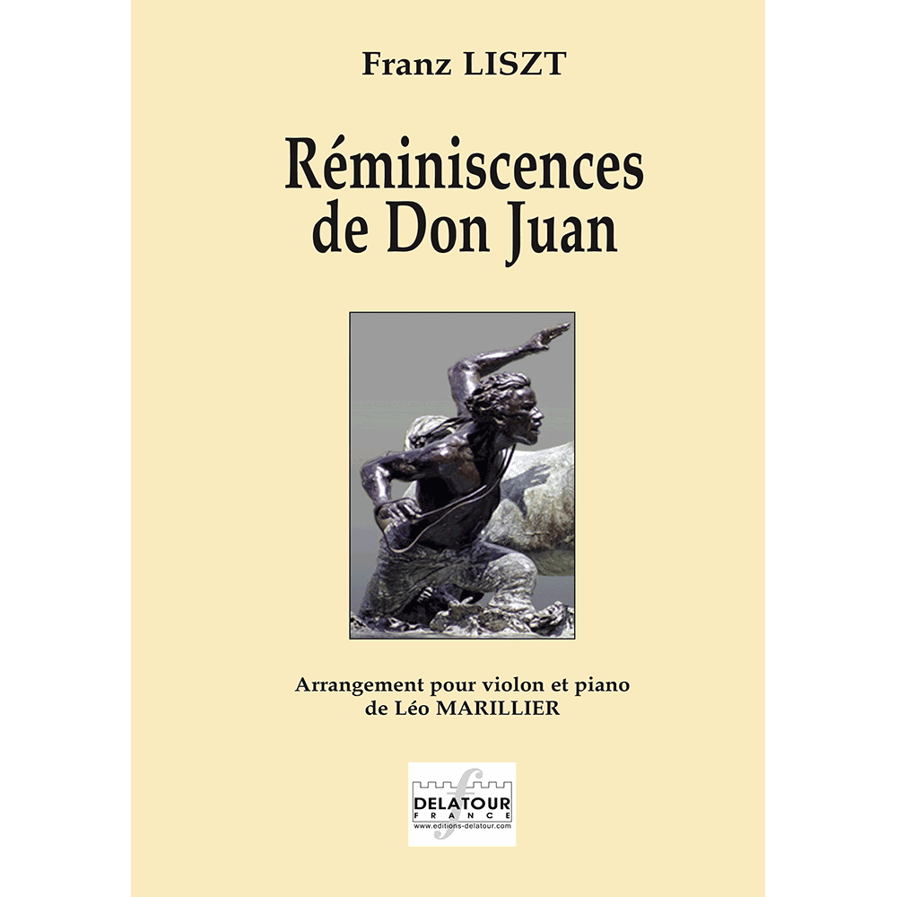 Réminiscences de Don Juan for violin and piano