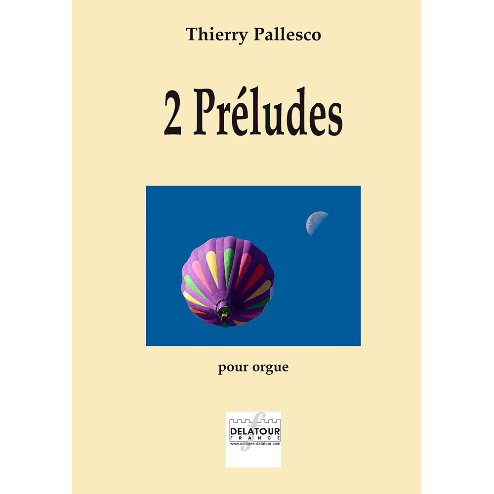 2 preludes for organ