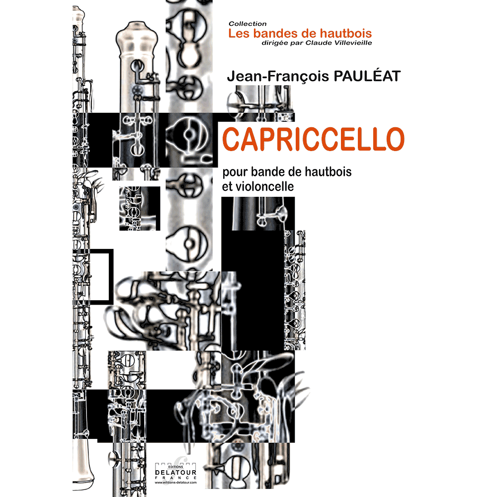Capricello for oboe ensemble and cello