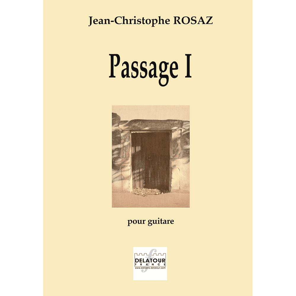 Passage I for guitar