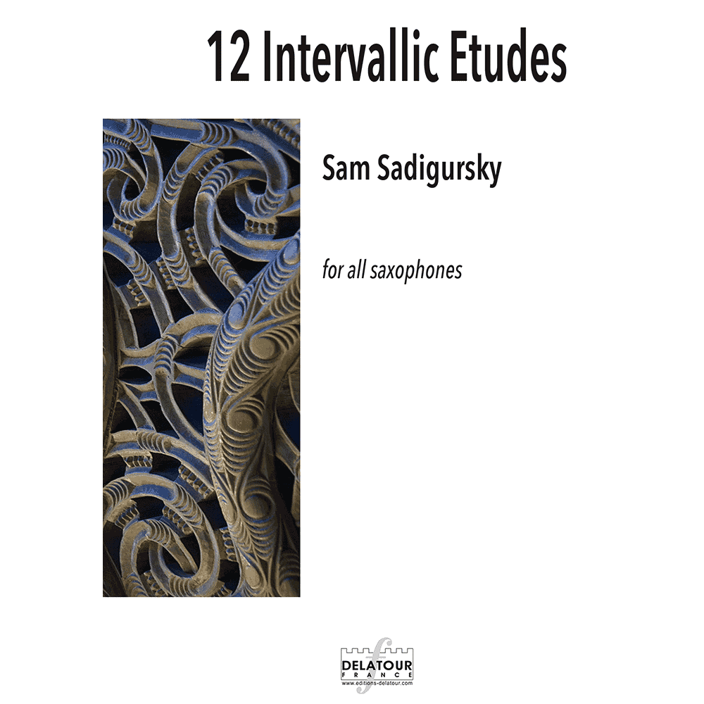 12 Intervallic Etudes for all saxophones