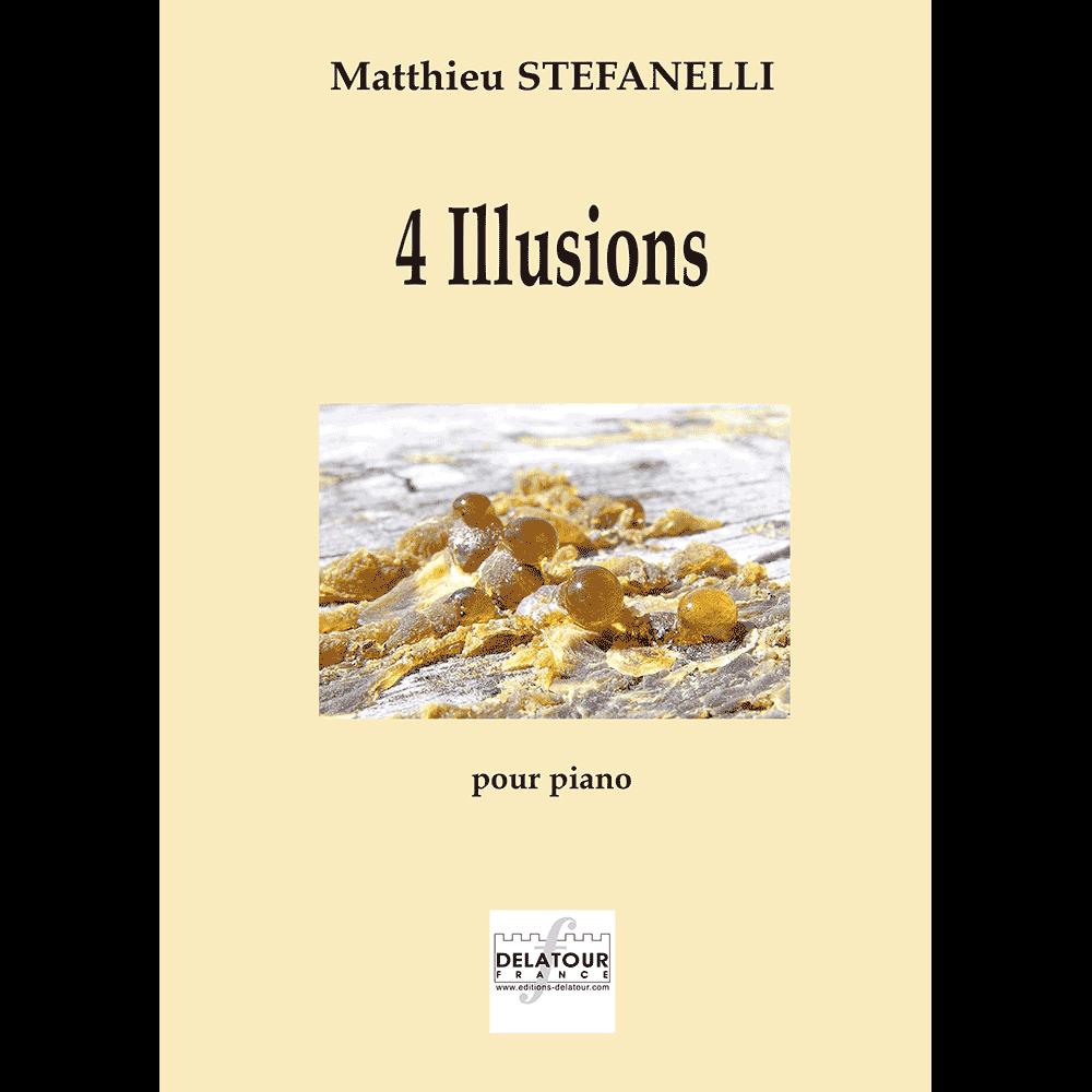 4 Illusionen für Klavier