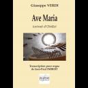 Ave Maria (extrait d'Otello) pour orgue