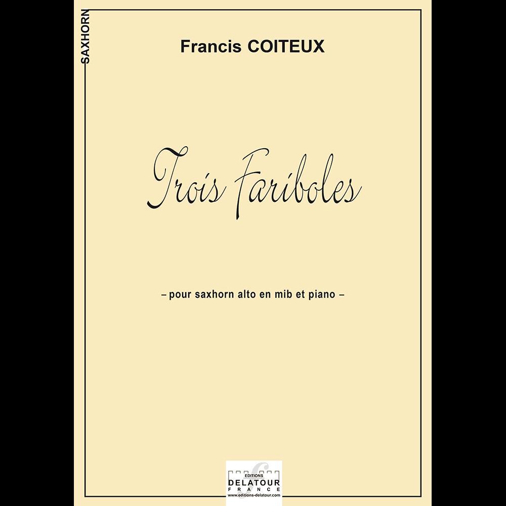 Trois fariboles für Saxhorn und Klavier