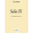 Solo IV für Altsaxophon