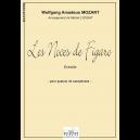 Die Hochzeit des Figaro (Saxophonquartett Version)