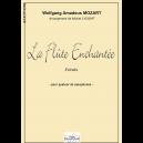 Die Zauberflöte (Auszüge) für Saxophonquartett