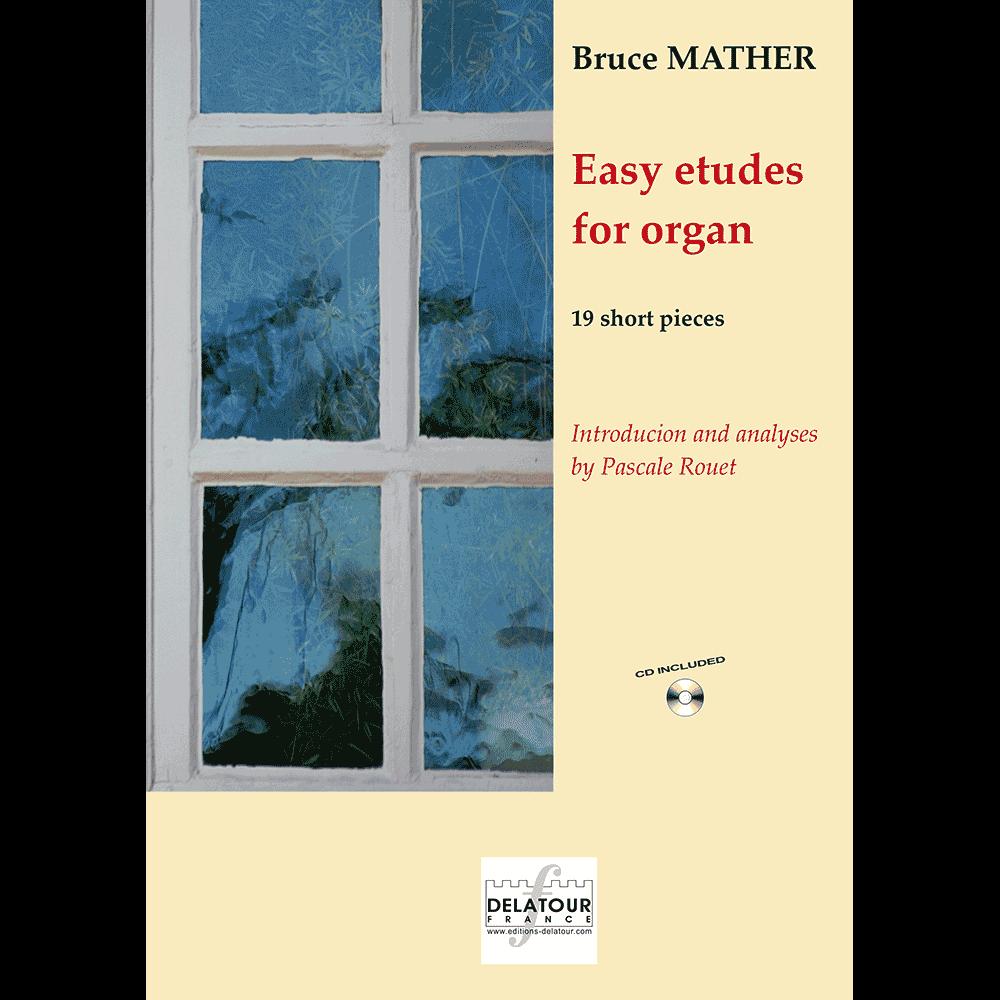 Easy etudes for organ - English version