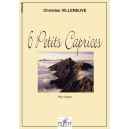 6 petits caprices for organ