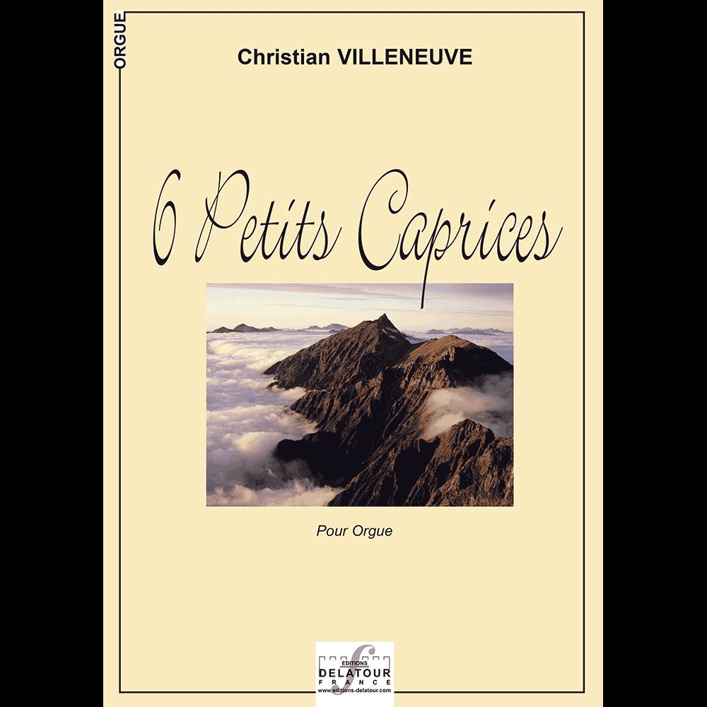 6 petits caprices für Orgel
