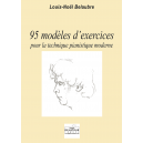 95 models of exercises for the modern piano technique