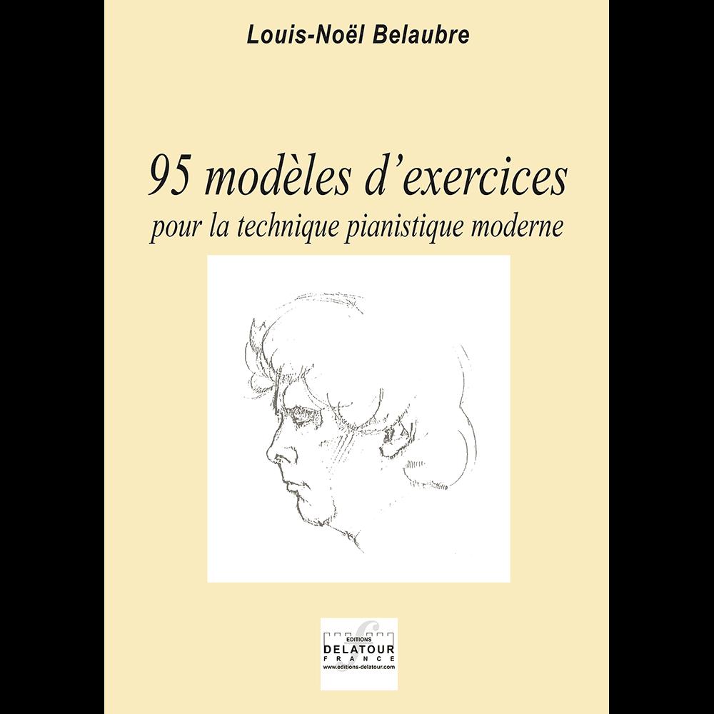 95 Übungen Modelle für den modernen Klaviertechnik