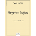 Marguerite et Joséphine for alto saxophone and piano