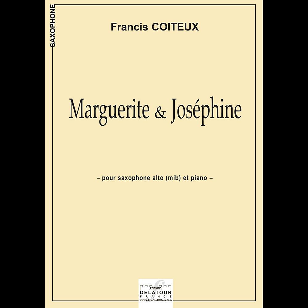 Marguerite et Joséphine für Altsaxophon und Klavier