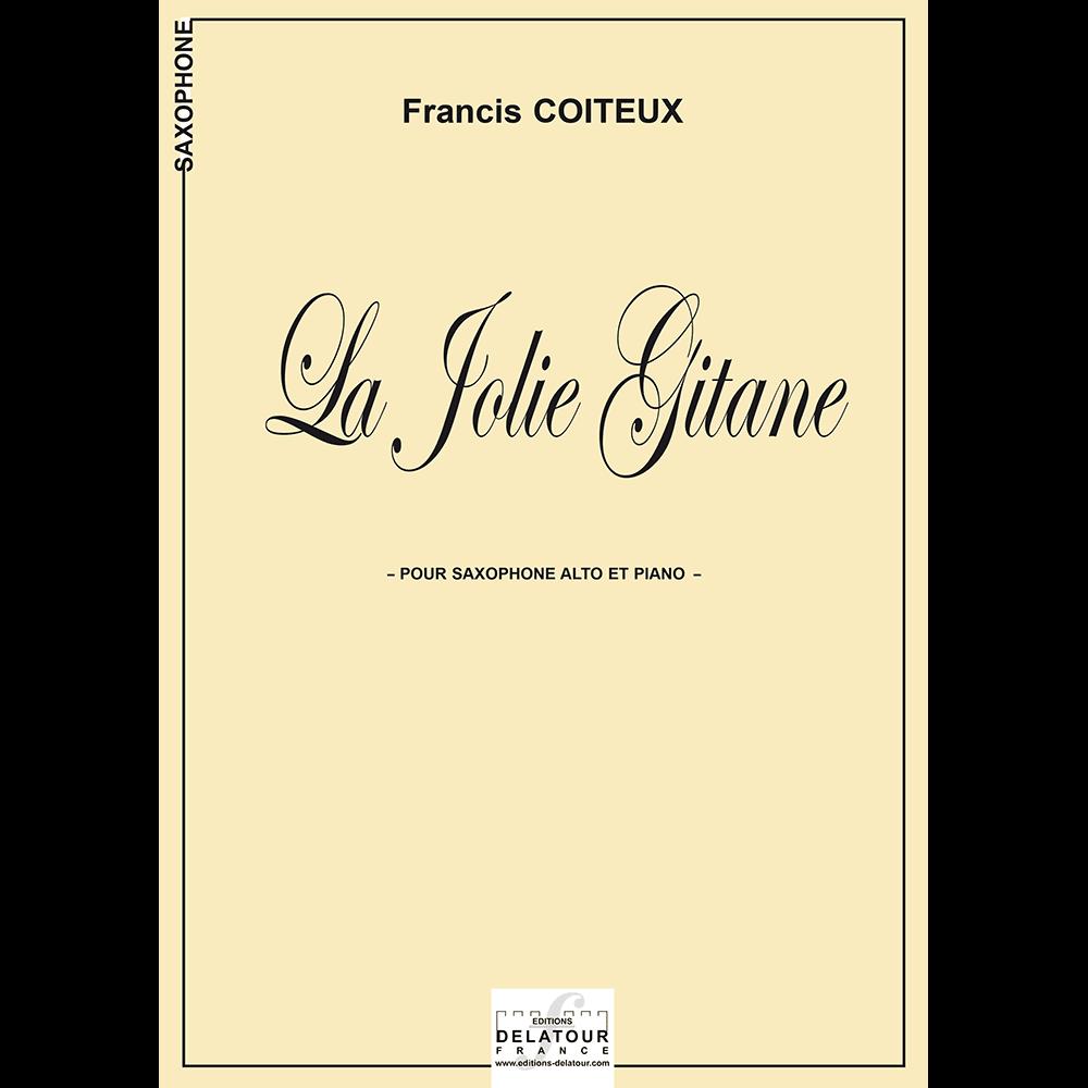 La Jolie Gitane for alto saxophone and piano