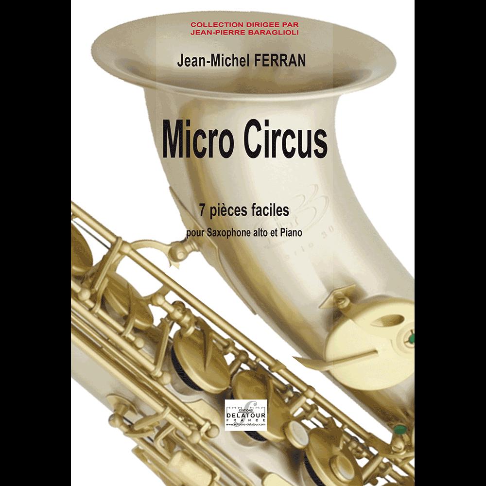 Micro circus (saxophone and piano version)