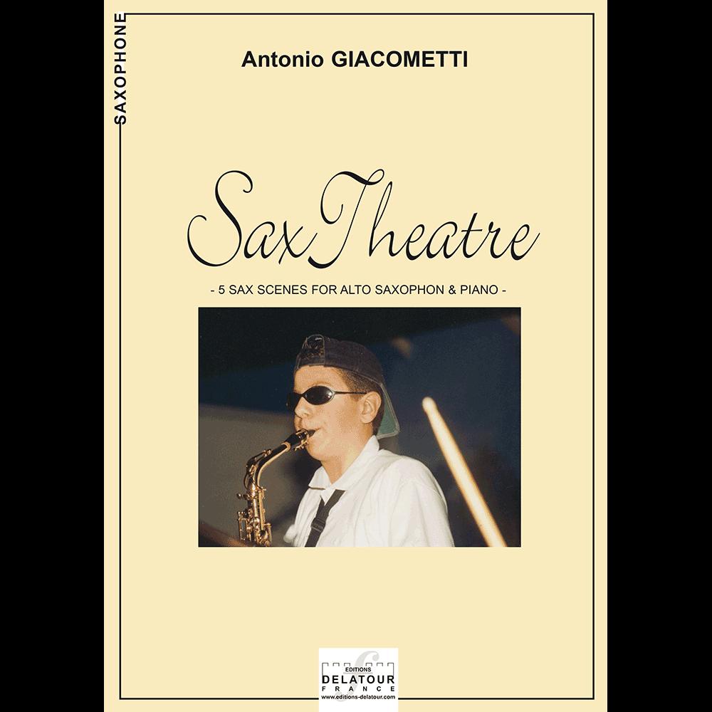 Sax theatre für Altsaxophon und Klavier