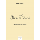 Brise marine für Altsaxophon und Klavier
